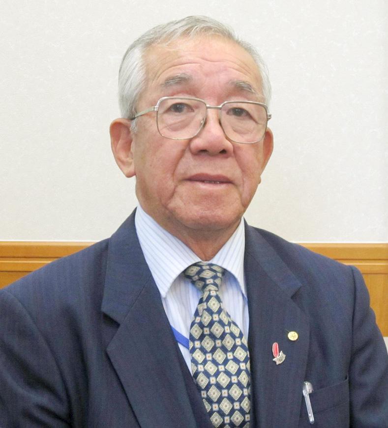 福壽会長の写真